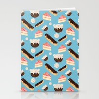 Sweet Things (on Blue) Stationery Cards
