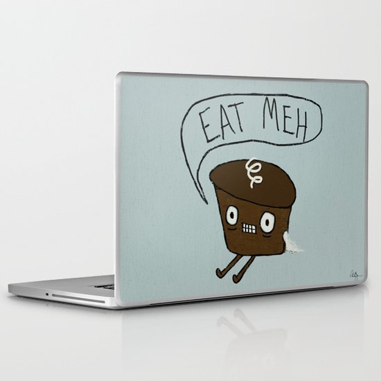 Eat Me Cupcake Laptop & iPad Skin