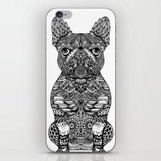 Mandala Frenchie iPhone & iPod Skin