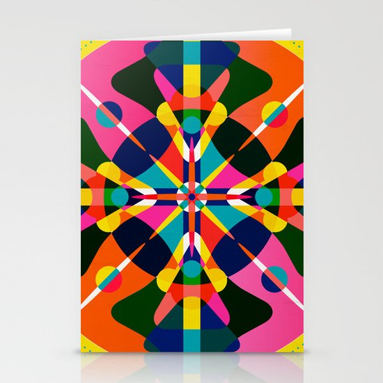 Compass, Palette 1 Stationery Card