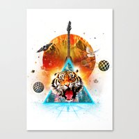 ERR-OR: Tiger Connection Canvas Print