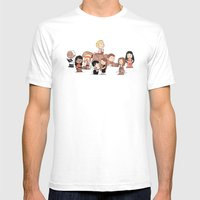 Firefly: The Gang - revised Mens Fitted Tee White SMALL