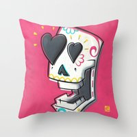 YOWZA Throw Pillow