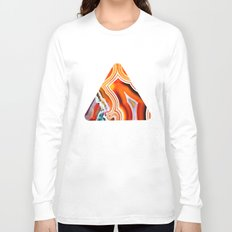The Vivid Imagination of Nature, Layers of Agate Long Sleeve T-shirt