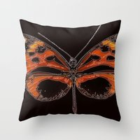 Untitled Butterfly 2 Throw Pillow