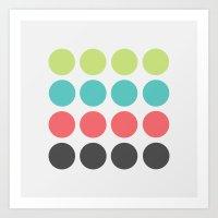 Quantum Dots 2 Art Print