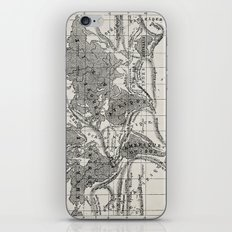 World map 1873 - French iPhone & iPod Skin