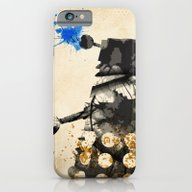 iPhone & iPod Case featuring Doctor Who Dalek Rustic by Colin Capurso