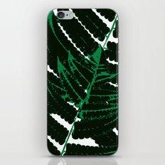 Green tropical iPhone & iPod Skin