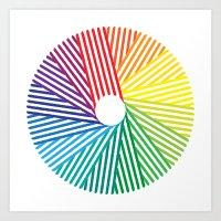 Spectral Art Print