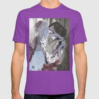 Glaciers Mens Fitted Tee Ultraviolet SMALL