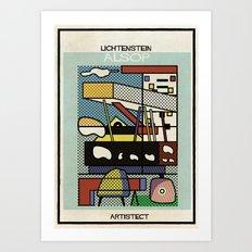 lichtenstein+alsop Art Print