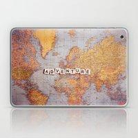adventure map Laptop & iPad Skin