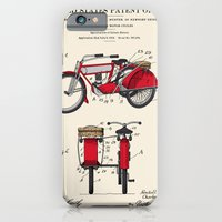 Motorcycle Sidecar Patent 1912 iPhone 6 Slim Case