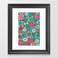 Chicles Y Caramelos Framed Art Print