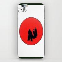 Art Of Judo Print iPhone & iPod Skin
