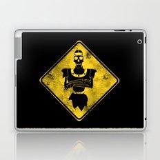 Dragon's Lair Warning Sign Laptop & iPad Skin