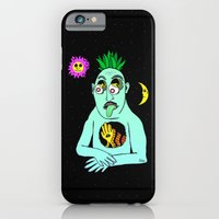 iPhone & iPod Case featuring Trippy Face by NIXA