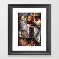 Urban Building Framed Art Print