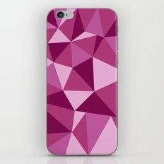 Pink Geometric iPhone & iPod Skin