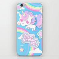 Happy Unicorn iPhone & iPod Skin