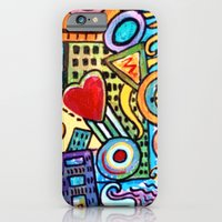 iPhone & iPod Case featuring Pretty City by gretzky