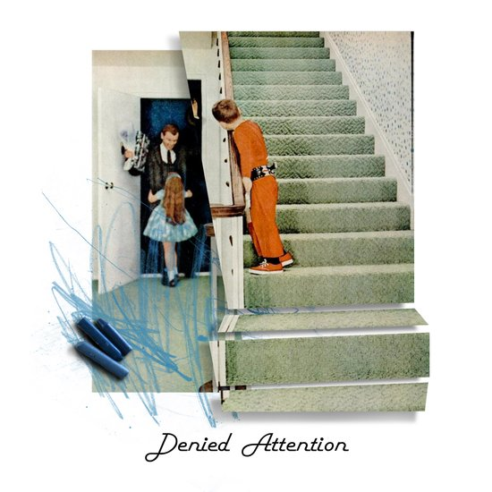 Denied Attention Art Print