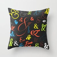 Ampersand Stories 3 Throw Pillow