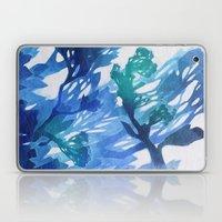Morning Blossoms 2 - Blu… Laptop & iPad Skin