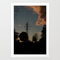 Wired Two. Art Print
