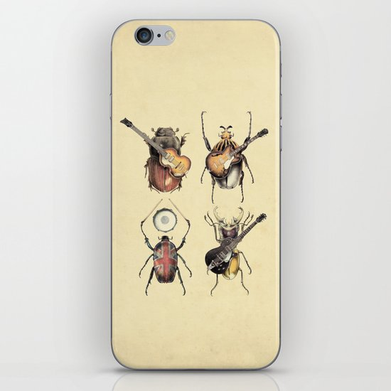 Meet the Beetles iPhone & iPod Skin