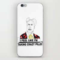 Crazy pills iPhone & iPod Skin