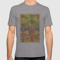 A FARCE / PATTERN SERIES… Mens Fitted Tee Athletic Grey SMALL
