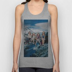 Mountain Girls Unisex Tank Top
