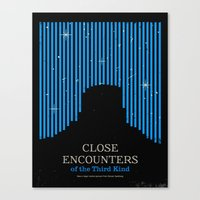 Close Encounters Of The … Canvas Print