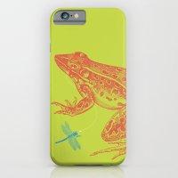 Frog Vs. Dragonfly iPhone 6 Slim Case