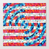Abstract America Canvas Print