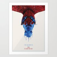 Spider-Man double poster Art Print