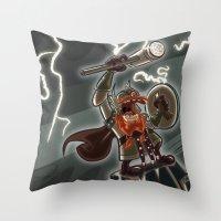 Bolt Thundersmite- Versi… Throw Pillow