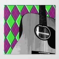 Acoustic #2 Canvas Print