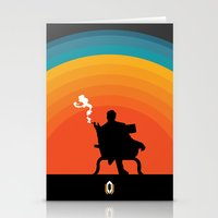 The illusive man Stationery Cards