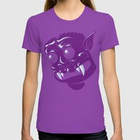 Guardian of the First Dimension Womens Fitted Tee Ultraviolet SMALL