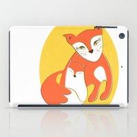 Fox Family iPad Case
