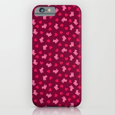 Teddies and hearts iPhone 6 Slim Case