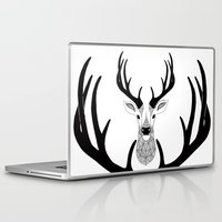 deer Laptop & iPad Skins featuring Deer by Art & Be