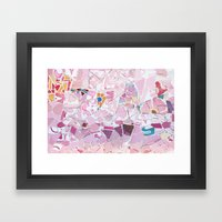 Tiling with pattern 5 Framed Art Print