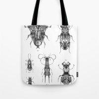 Entomologic Bones Tote Bag