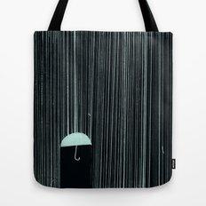 Rain Like Ice Tote Bag