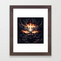 Diablo Framed Art Print