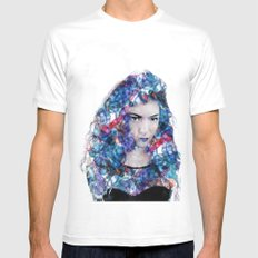 Lorde Mens Fitted Tee SMALL White